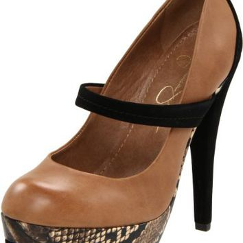 Jessica Simpson Women's Cheetah Platform Pump