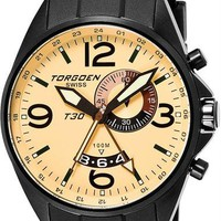 Torgoen T30302 GMT Alarm Black Yellow