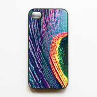 Iphone Case Peacock Feather Iphone Case by SSCphotographycases