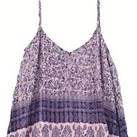 Billabong pleat it cami - Peaceful Pink - J503WPLE				 | 