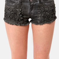 Black Sheep Grace Land Grey Shorts