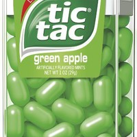 Tic Tac Green Apple, 1-Ounce Packages (Pack of 12)