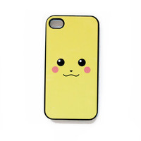 $14.00 Pikachu iPhone 4 Case New iPhone 4 &amp; iPhone 4s by afterimages
