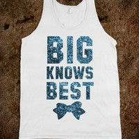 Big Knows Best (Sparkle Tank) - Sorority Sisters