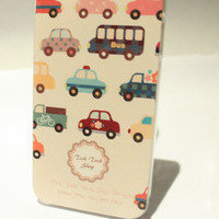 Bestgoods — Cute Cartoon Cars Hard Cover Case For Iphone 4/4s