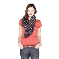 LWS1183P - Kirstin Striped Scarf