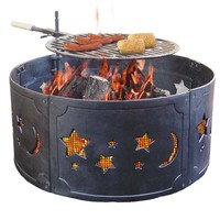 "26"" Big Sky Cast Iron Fire Ring"