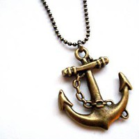 Jewelry - Anchor Necklace | UsTrendy