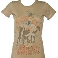Ladies Batgirl Pose Black Label T-Shirt : TruffleShuffle.com