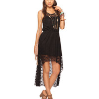 Lace High-Low Maxi Dress | FOREVER21 - 2000044026