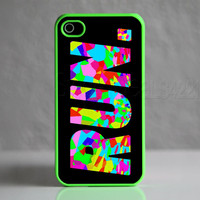 Custom Apple iPhone 4/4S Run Running Jogging Colorful Case Cover Protector New