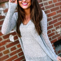 Gray Piko Knit | The Rage