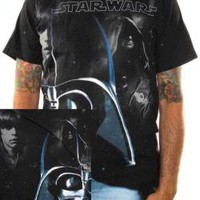ROCKWORLDEAST - Star Wars, T-Shirt, Transparent Vader, All Over Print