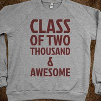 Class of Two Thousand & Awesome - Text First