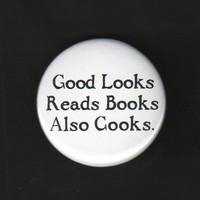 $1.75 Bachelor's Button Good Looks Reads Books Also by theartfulbadger