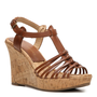Shop  Audrey Brooke Caress Wedge Sandal Larger View