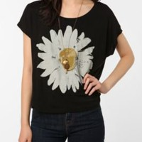 UrbanOutfitters.com &gt; Truly Madly Deeply Sunny Daisy Box Crop Tee