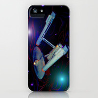 Enterprise NCC 1701 iPhone Case by JT Digital Art  | Society6