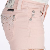 Miss Me Frayed Hem Stretch Short - Women's Shorts | Buckle