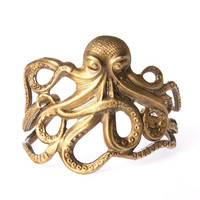 Alkemie Jewelry | Octopus Cuff