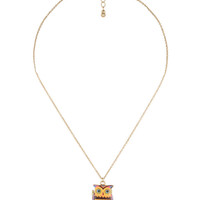 Abstract Owl Necklace | FOREVER21 - 1015035282