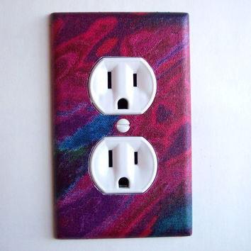 Aurora Borealis Outlet Plate, wall decor