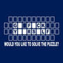 Funny Would you like to solve the puzzle tshirt by foultshirts