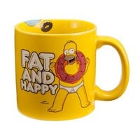 Fat &amp; Happy Mug