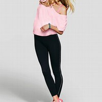 Studded Legging - PINK - Victoria's Secret