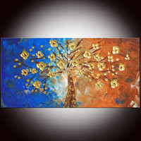 Original Modern Abstract Painting Large