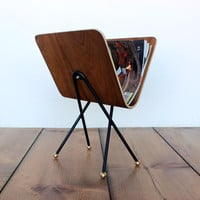 onefortythree — Bent plywood magazine rack