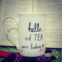 Lionel Richie mug - hello is it TEA you're looking for...