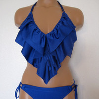 Medium Ruffle bikini by LoveLucyBea on Etsy