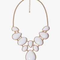 Bejeweled Bib Necklace | FOREVER 21 - 1018087118