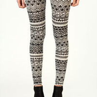 Jenna Aztec Print Leggings