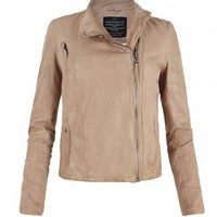 Marsh Leather Biker Jacket