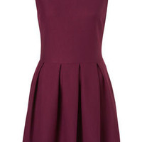 Structured Sleeveless Skater - Dresses - Apparel - Topshop USA