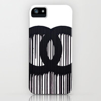 Dripping Chanel logo iPhone Case by Jack Rivington | Society6