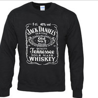 Jack daniel&#x27;s sweatshirt hoody pullover jumper by Meronepal