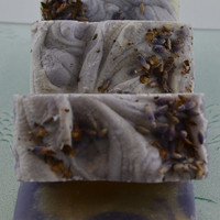 Lavender Vegan Soap by 2bloomsdesignstudio on Etsy
