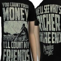 Amazon.com: Memphis May Fire - Richer Soft Fit T-Shirt: Clothing
