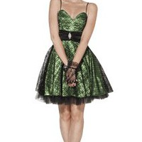 Flocked Mesh Satin Overlay Holiday Party Dress Junior Plus Size | Holiday Dresses
