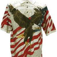 American Summer Flag Patriotic Eagle Shirt
