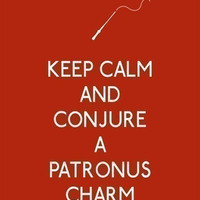 Keep Calm and Conjure a Patronus Charm 8 x by 3LambsIllustration