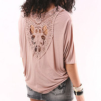 Crochet Dip Top - Crochet Tops at Pinkice.com