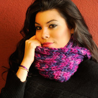 Purple Cowl Snood