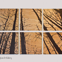The Wood Grain Forest Collection I by CallaghanArtGallery on Etsy