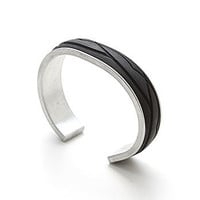 Black Bike Tyre Bracelet by Jeni Oye - Bracelets - The best modern jewellery from around the world. Oye Modern.