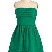 What a Keeper Dress in Green | Mod Retro Vintage Dresses | ModCloth.com