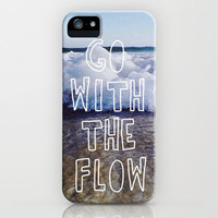 Go With The Flow iPhone Case by Jerry Maestas | Society6